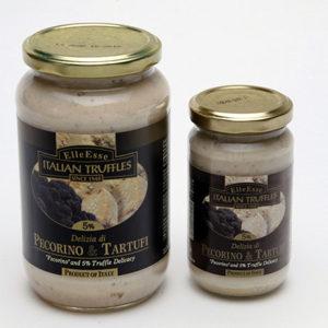 delizia di pecorino e tartufi