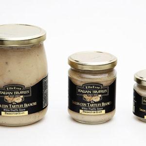 salsa con tartufi bianchi 6%